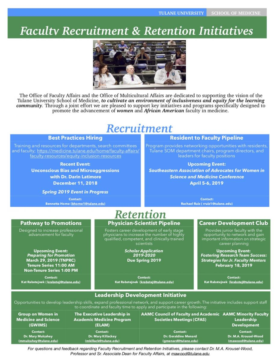 Recruitment and Retention Handout