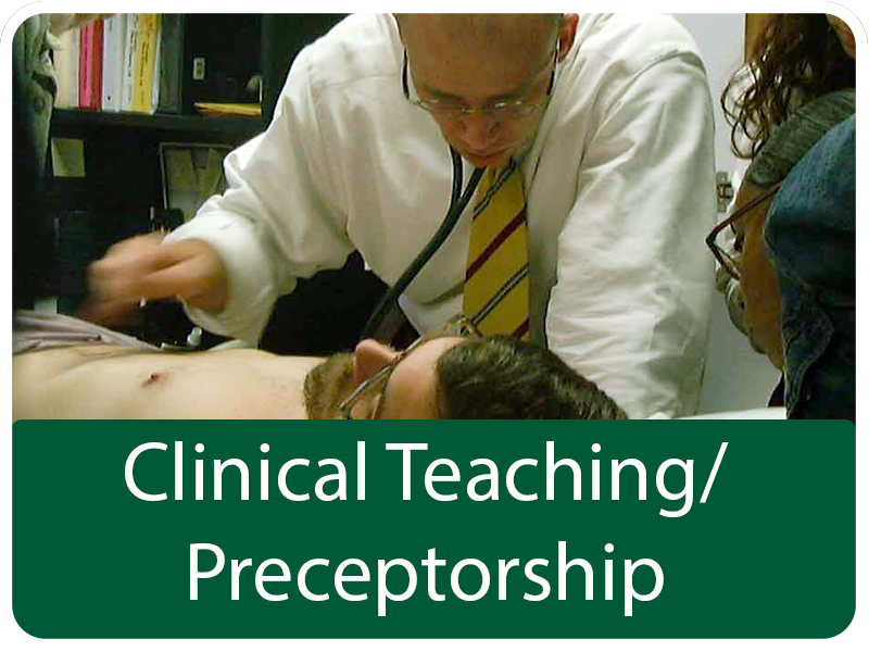 Clinical Teaching / Preceptorship