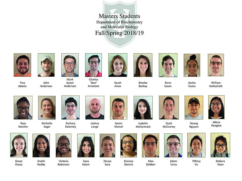 Masters 1 year current students