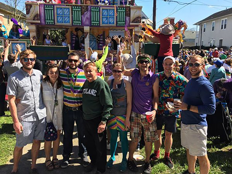 Mardi Gras Group Photo
