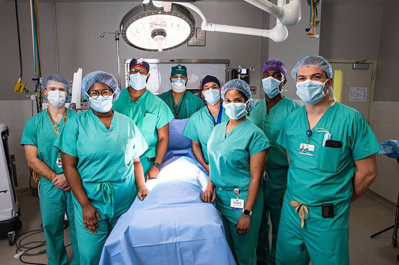 Group picture of Surgery residents