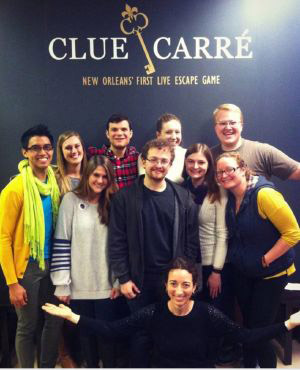 Clue Carre group escape room