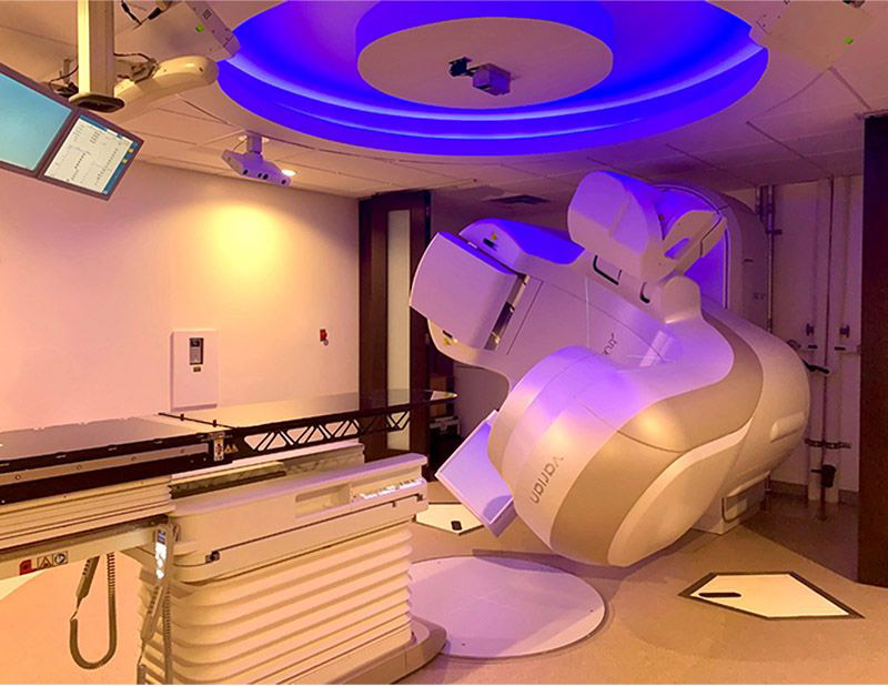 Vision RT & CBCT True Beam radiation oncology machine