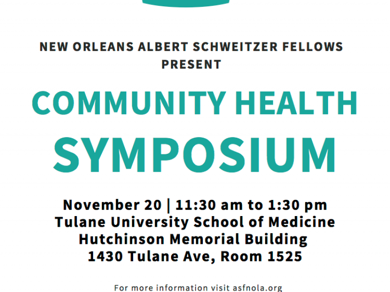 Albert Sweitzer Fellowship Symposium